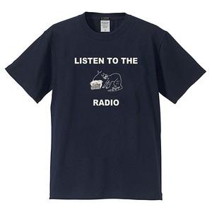 RADIO CAT TEE (ネイビー)