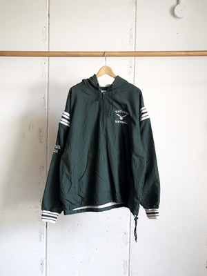 USED / Champion, WAYLAND SOFTBALL nylon hooded jacket