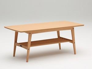 【カリモク60】リビングテーブル大 ピュアビーチ
