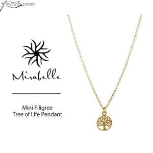 【Mirabelle】Mini Filigree Tree of Life Pendant