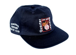 QUARTERSNACKS PARTY CAP NAVY
