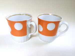 Soviet vintage dot mag cups no.213