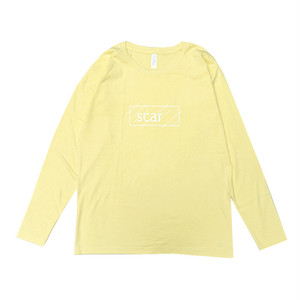 scar /////// OG L/S TEE (Light Yellow) 5.3oz