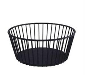 ブラック メタルバスケット
