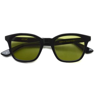 A.D.S.R. / ZAPPA ザッパ 01 (a) / Shiny Black-Light Green lenses ブラック-ライトグリーン サングラス