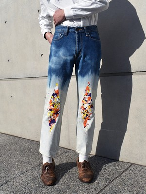 Re1067: Denim Pants