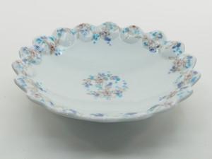 色絵小花6寸皿