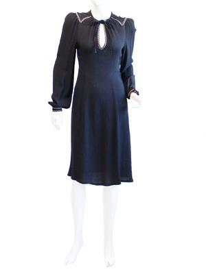 70s London vintage Radley dress