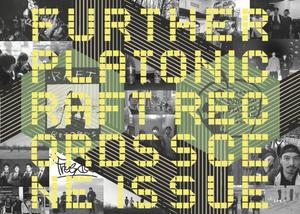 V.A. 「FURTHER PLATONIC / RAFT RECORDS compilation +ZINE」