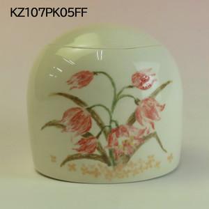 【アウトレット】陶器製ミニ骨壷あんのん(KZ107PK05FF)イメージ