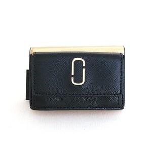マークジェイコブス MARC JACOBS 三つ折財布 レディース M0014492-003 NEW BLACK MULTI