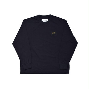 EXTRALESS L/S Tee ELECTRICS Black EX19FW0004