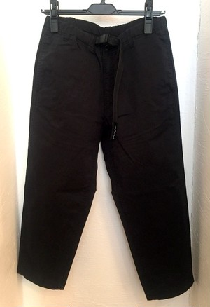 Flex Cropped Pants Black