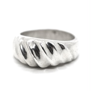 Vintage Sterling Silver Mexican Modern Ring