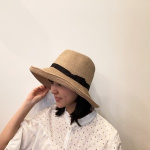 G120019【cableami×sarahwear】COTTON BRAID OPEN CROWN HAT