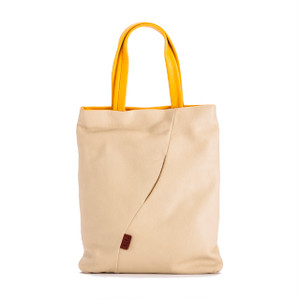 【袋果ドキュメントバッグ / ホワイト】書類の持ち歩きに