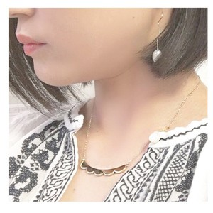 ■scallop necklace■ スカラップネックレス