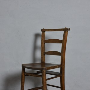 Church Chair / チャーチチェア【B】〈チャペルチェア・ダイニングチェア・デスクチェア・椅子・カントリー・アンティーク家具〉112133