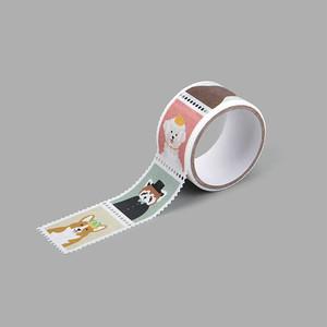 Stampマスキングテープ  01 Animal