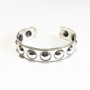 "North Works ""900silver Stamp Cuff Dome"""
