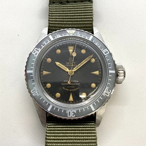 W.MT WATCH SEA DIVER  MILITARY OCEAN (STRENGTH AGED) WMT486-08