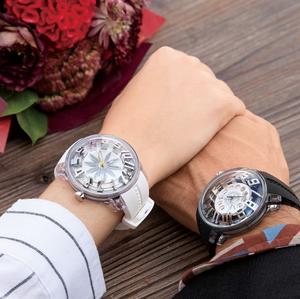 【Tendence テンデンス】TY023010 KING DOMEキングドーム(ブラックフォン)/国内正規品 腕時計