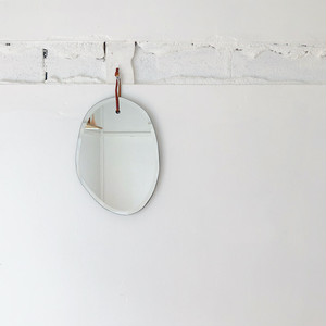 WALL HANGING MIRROR CLOUD OBLONG 鏡 ミラー
