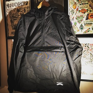 """HELL ON US"" Water Resistant Windbreaker Anorak Jacket"