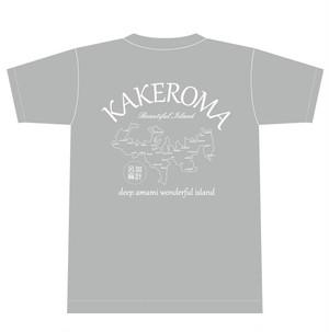 加計呂麻 Beautiful island Tシャツ (mens)