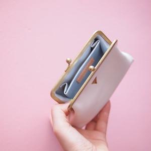 mini   ウォレット/がまぐち財布 スノーホワイト