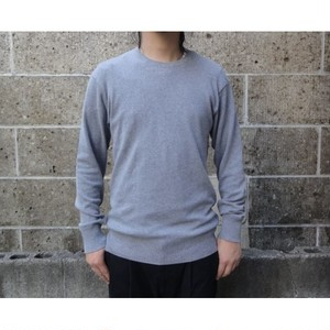 gicipi (ジチピ) COTONE SOFT CREW NECK LS グレー
