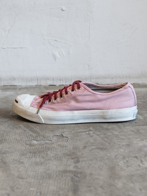 pre-fix Jack Purcell sneakers object dyed - subtle red 【 8/16 受付終了 】