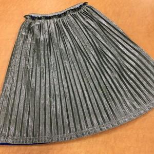 UNICA 173-1103キラキラプリーツリバーシブルスカート