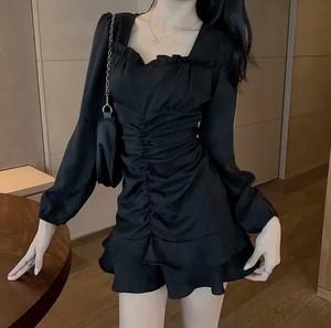 paris frill dress