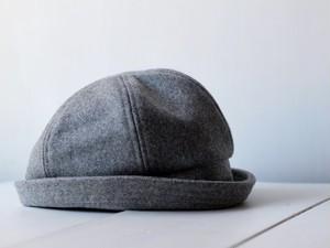 SAILOR HAT | WOOL c/#SILVERGRAY【M:56~59cm】