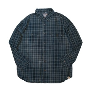 USED SHIRTS OVERDYED -VINTAGE BLUE- / T(カーハート)