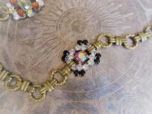 ヴィンテージビジューブレスレット vintage bracelet bijou <BL-RBbk>