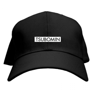 TSUBOMIN / BOX LOGO CAP BLACK
