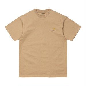 Carhartt (カーハート) S/S AMERICAN SCRIPT T-SHIRT - Dusty H Brown