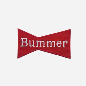 BUMMER CALIFORNIA BOW TIE PATCH