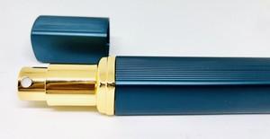 旅行先で香水アロマ♪ 携帯用スプレーボトル 12ml -ブルー-