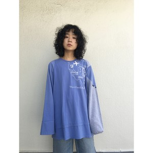 oneoff remeke / FUDO long sleeve / blue