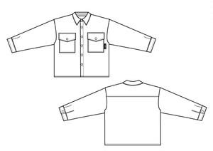 【cielkocka】チェックシャツジャケット