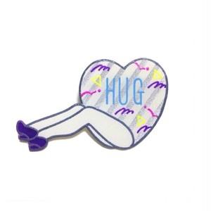 セクシーハートブローチ(HUG)