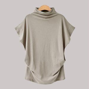 【トップス】シンプル無地ハイネックTシャツ・ポーロシャツ23962066