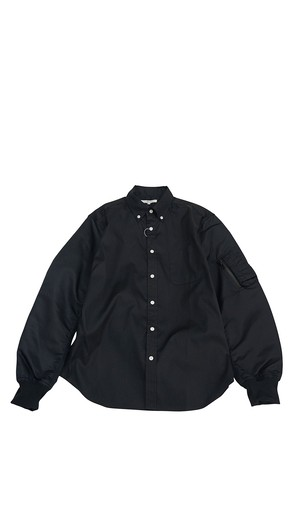 FLIGHT SLEEVE SHIRTS ( BLACK )