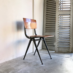 """""""Marko"""" Compass Leg Industrial Chair 1960's オランダ D"""