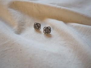 <vintage silver925>decorative mini pierce