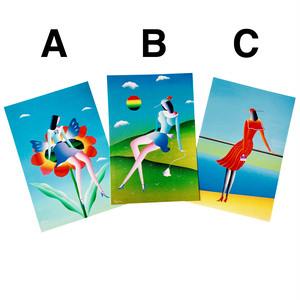 ジュリアンヌ ポストカード&封筒セット A/B/C