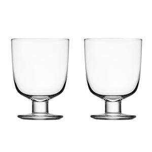 イッタラ レンピ グラス 340ml ペア クリア  1008683